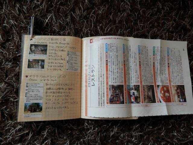 オリジナルガイドブック(紙を折り込む)