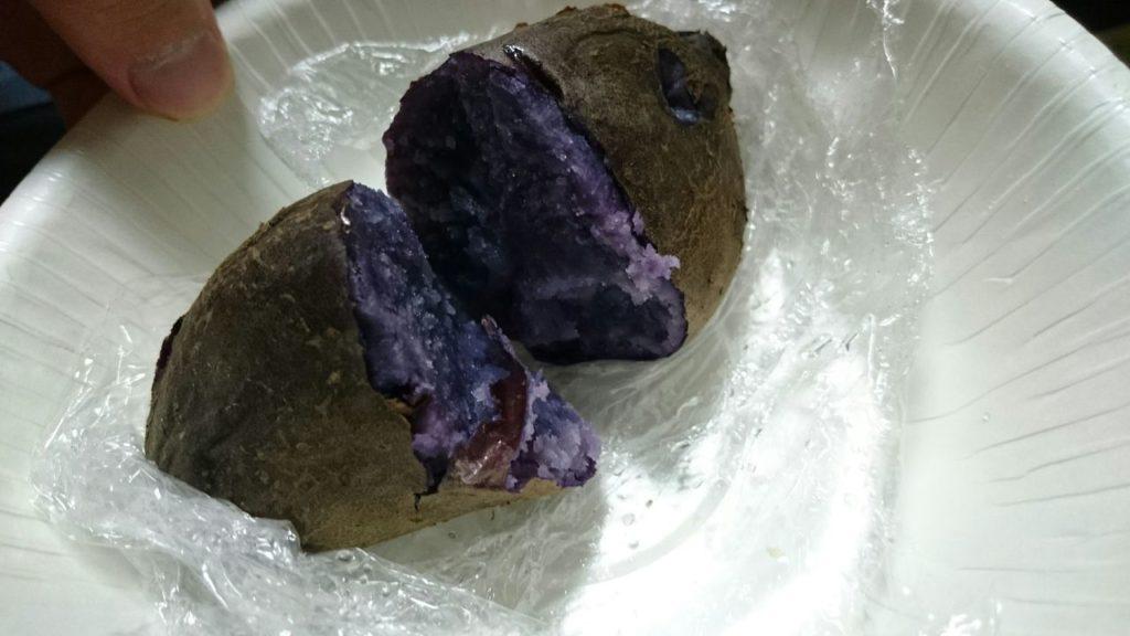 紫ジャガイモ