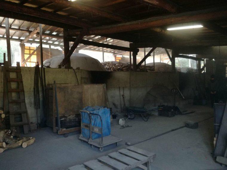 大月町の炭窯
