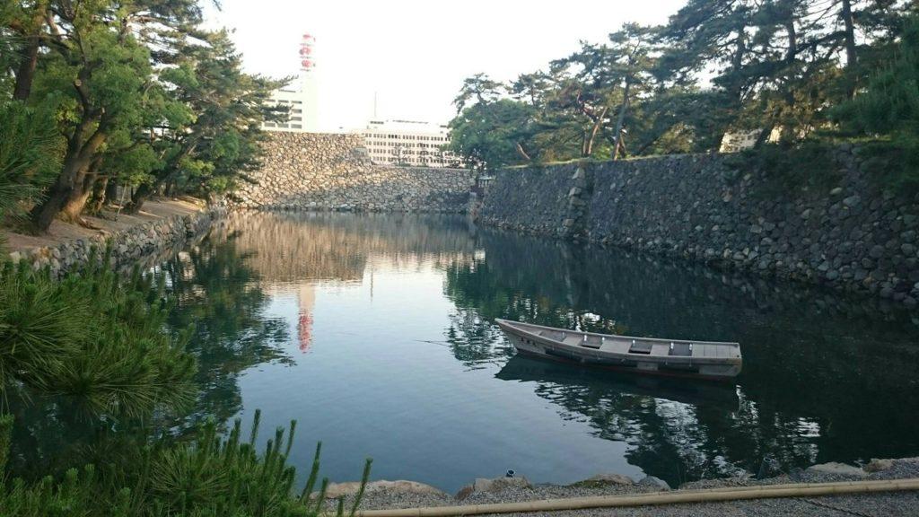 高松城の堀