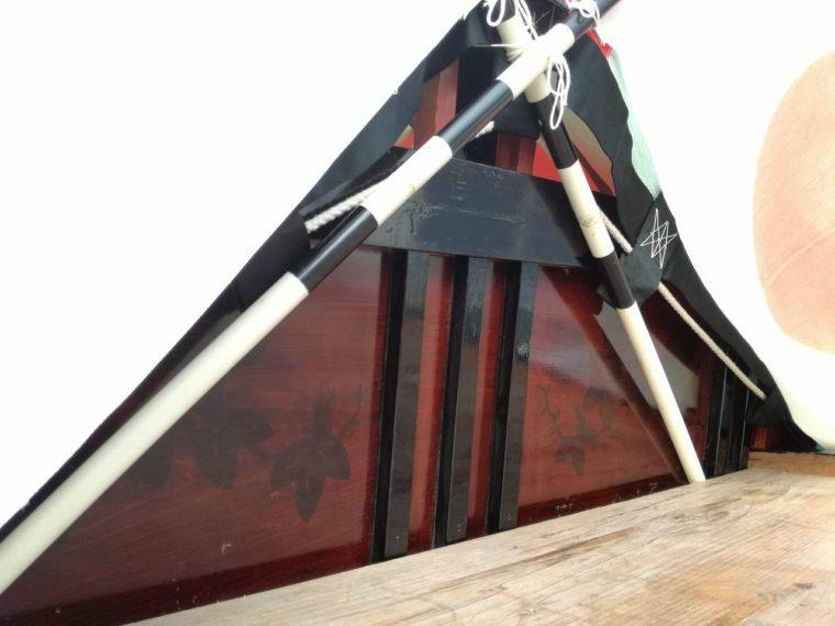 吉良川傍士のお舟の模様