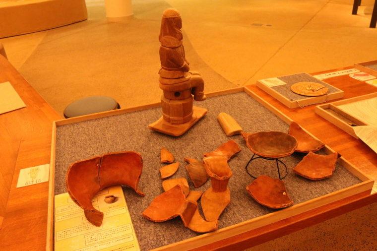 土器の模型