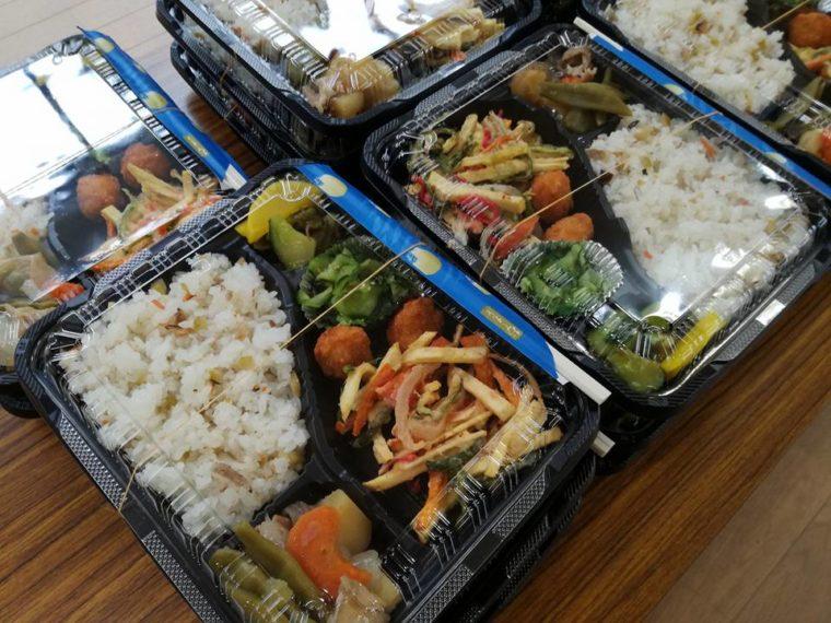 日南の野菜を使ったお弁当