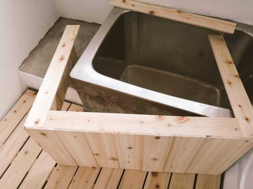 お風呂DIY