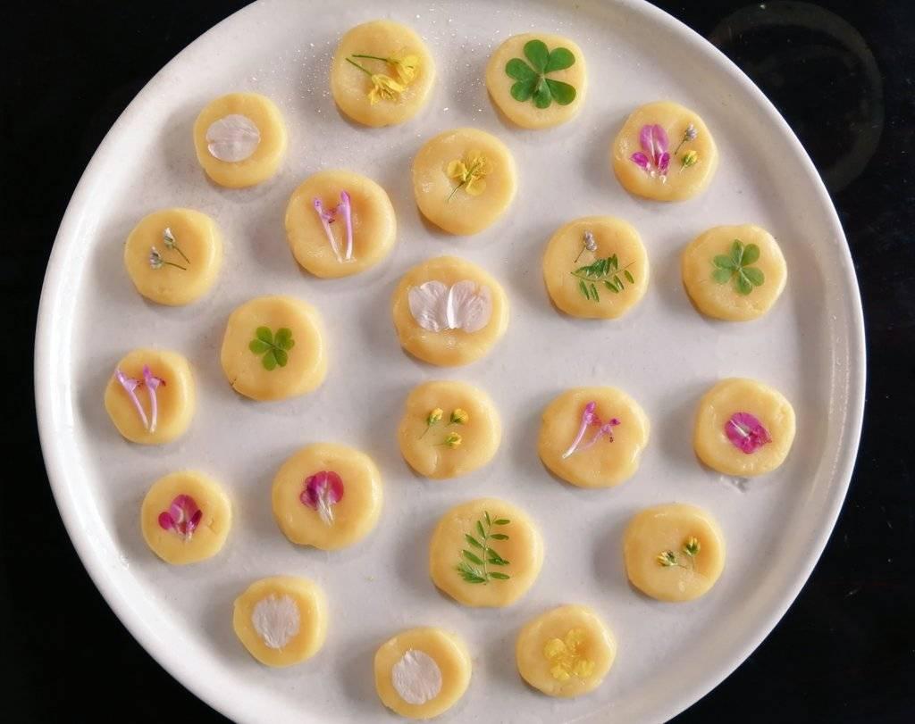 春の野草クッキー